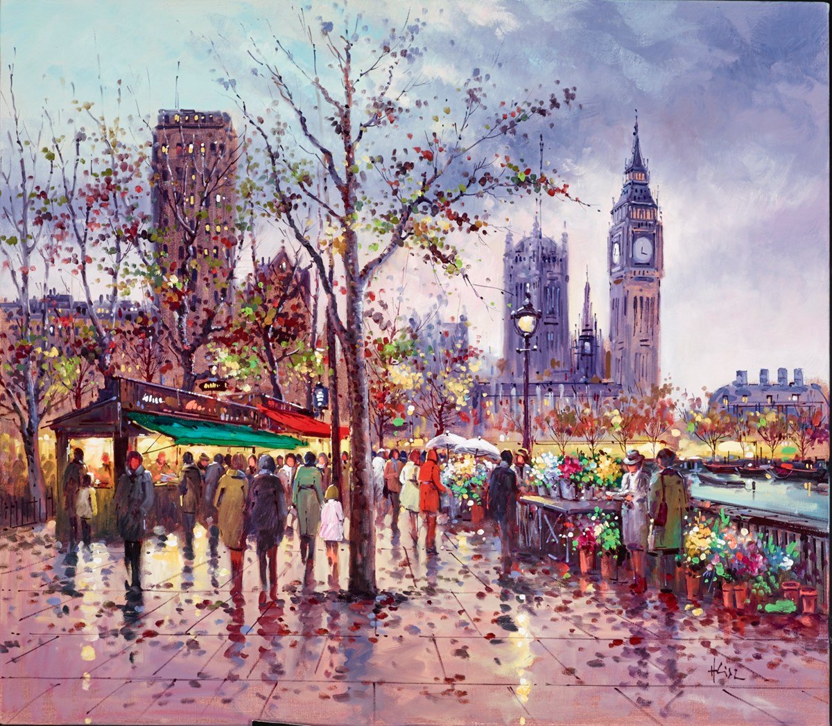 London Afternoon, Westminster